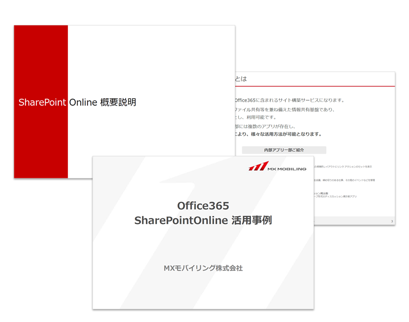 Office365 SharePointOnline 活用事例
