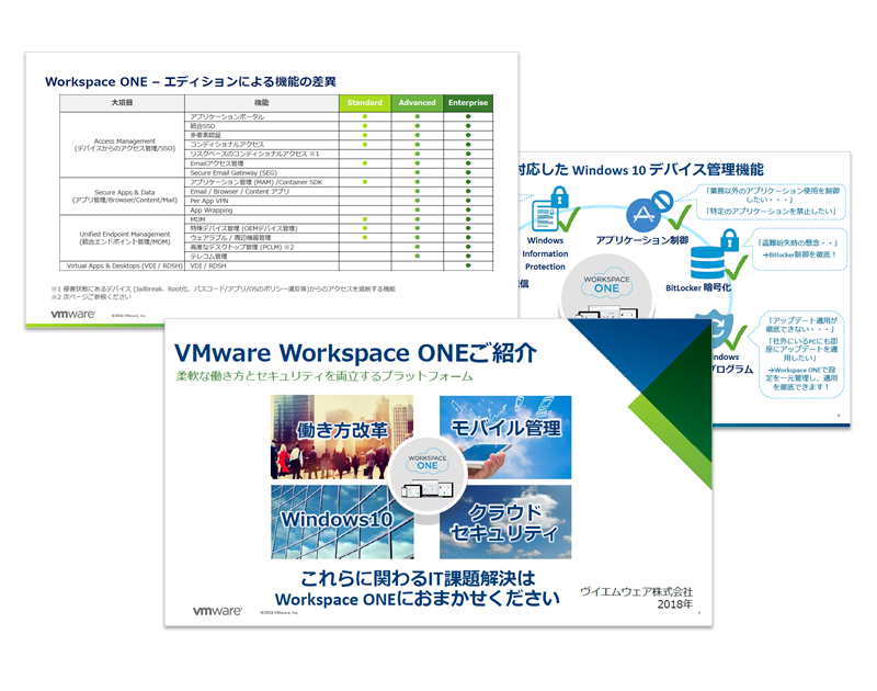 VMware Workspace ONEご紹介