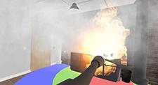 消火器の基本動作を学習する