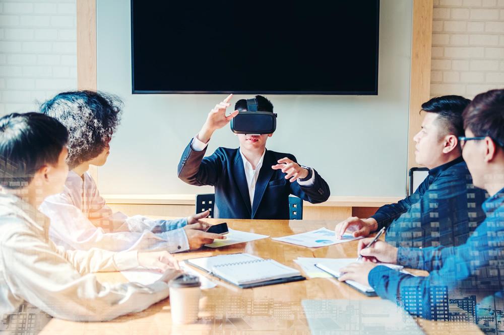 <p>VR消火訓練シミュレータ 社員研修</p>